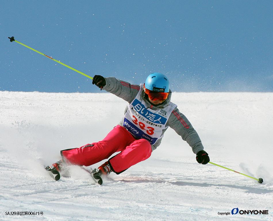 米陀 あかね 第54回全日本スキー技術選手権大会