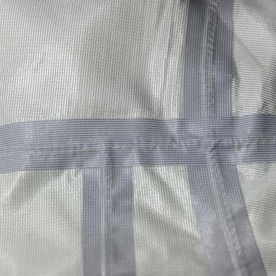 縫製部分から水の浸入を防ぐ為に施される加工。