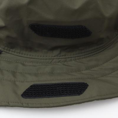 天候に応じて、帽子の形状を変更させることができます。