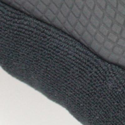 親指にはパイル生地を採用し、汗拭きとして活用可。