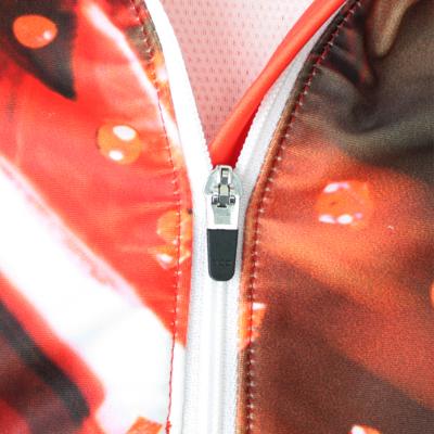 ロック式ファスナー 引き手をスライダーに対して垂直に立てるとスライダーロックが開放され、簡単にファスナーの開け閉めが可能。