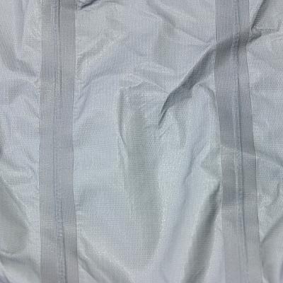 シームテープ 縫製部分から水の浸入を防ぐ為に施される加工。