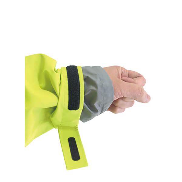 팔목에서 물 눈의 침입을 막기 이중 소매 사양입니다.