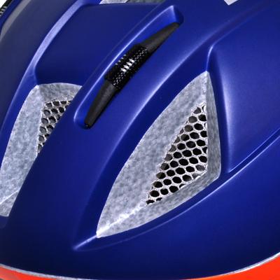 ヘルメット内の空気循環を最大限に高める為に、ベンチレーション形状や位置に研究を重ね、優れた通気性を実現しました。