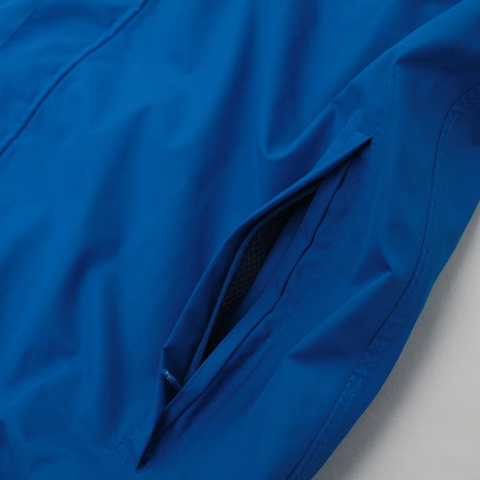 使いやすい裾位置に配したファスナー付きポケット