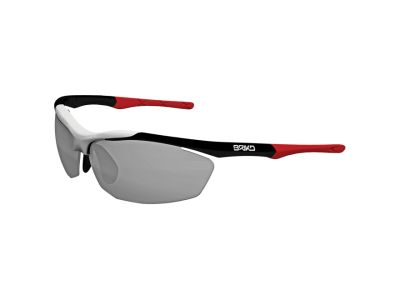 MATT BLACK WHITE RED(N048)